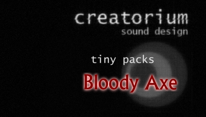 Creatorium Tiny Packs – Bloody Axe