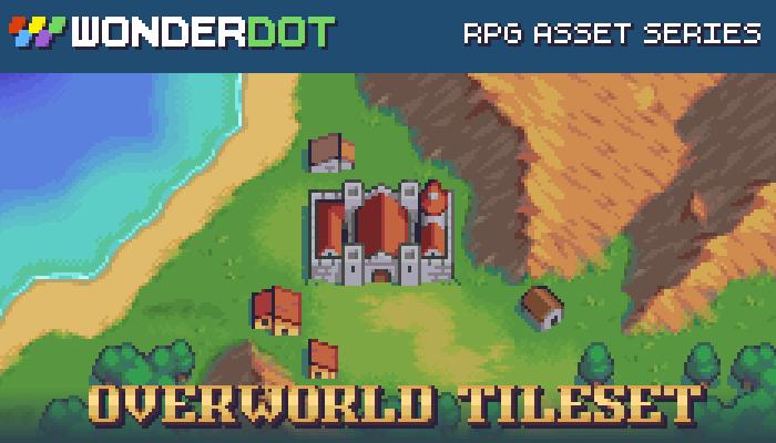 RPG Overworld Tileset