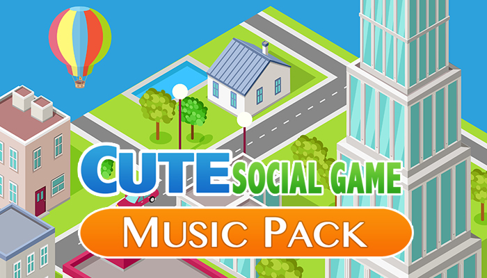 Cute Social Game Music Pack
