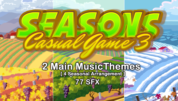 Casual Game Music Pack 3 [Seasons]
