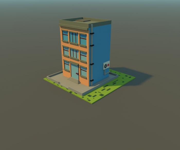 Simple minimalism houses