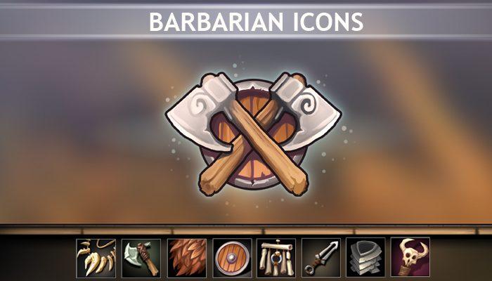 Barbarian Icons
