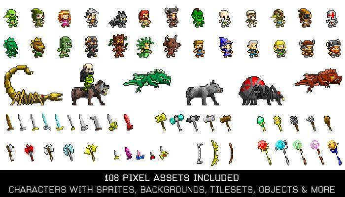 Pixelart Game Kit