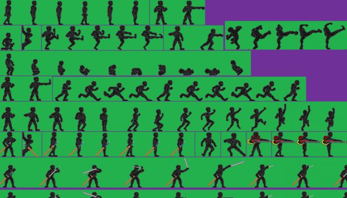 Platform Character Sprite Sheet