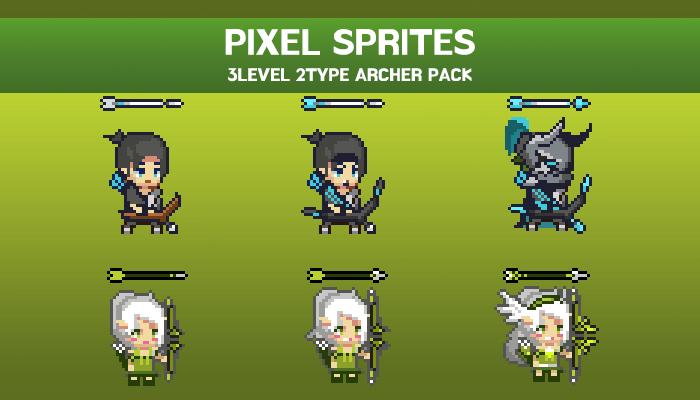 FANTASY PIXEL ARCHER SPRITE-1