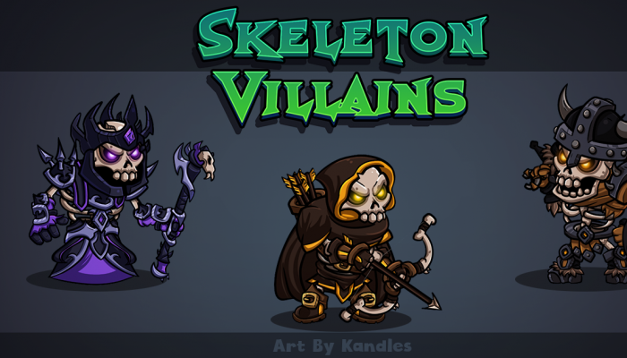 Skeleton Villains