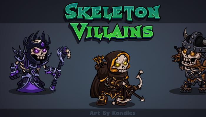 Skeleton Villains