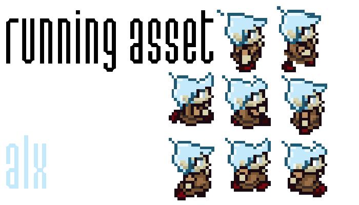 2D PIXEL RUNNING ASSETS