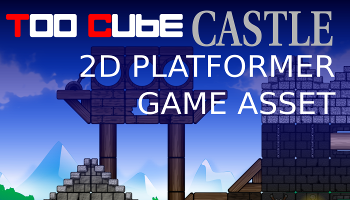 TooCubeCastle, the 2D platformer tileset
