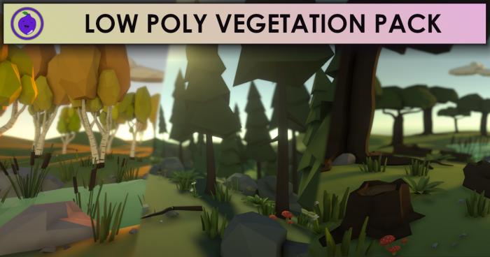 Low Poly Vegetation Pack
