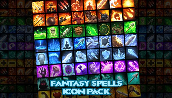 150+ Fantasy Spells Icon Pack