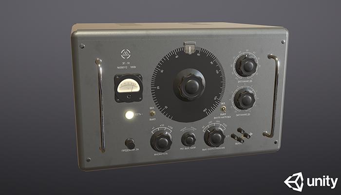 Vintage Signal Generator ZG10