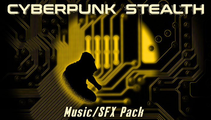 Cyberpunk Stealth Music/SFX Pack