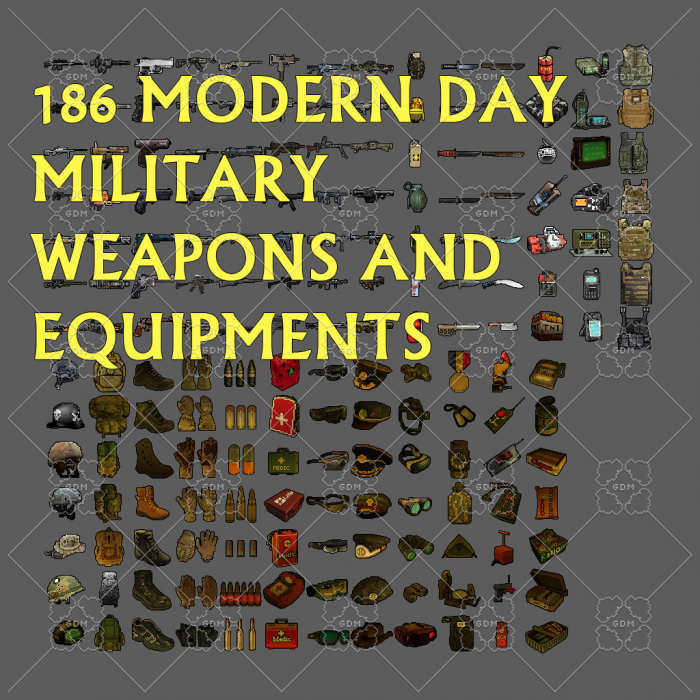 Military Weapons And Equipment Pack 182