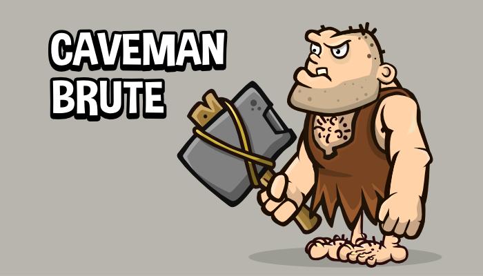 Caveman brute