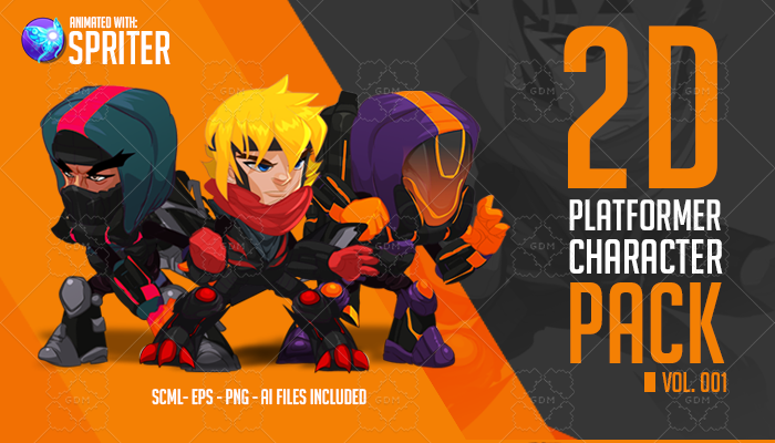 2D Platformer Character Pack