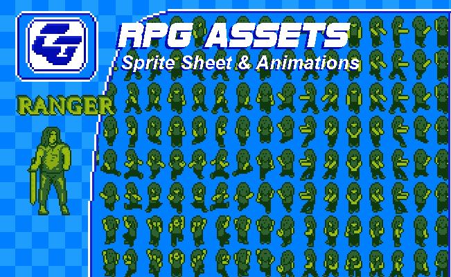 RPG Asset Character 'Ranger' (Gameboy)