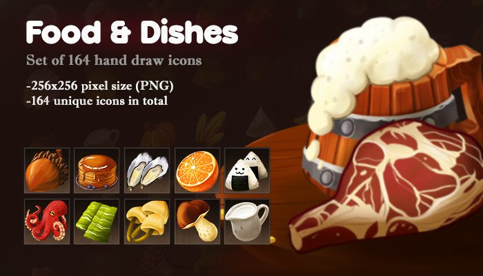 Food and Dishes icons