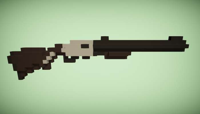 Rifle – Voxel Style