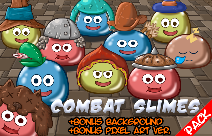 Combat Slimes Pack