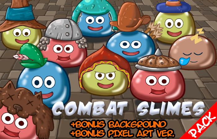 Combat Slimes Pack