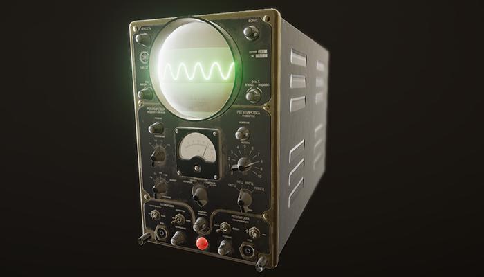 Vintage Oscilloscope 25i