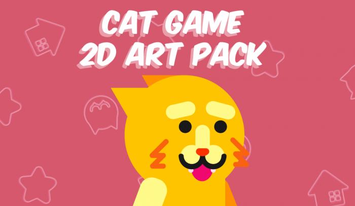 Cat Game 2D Pack