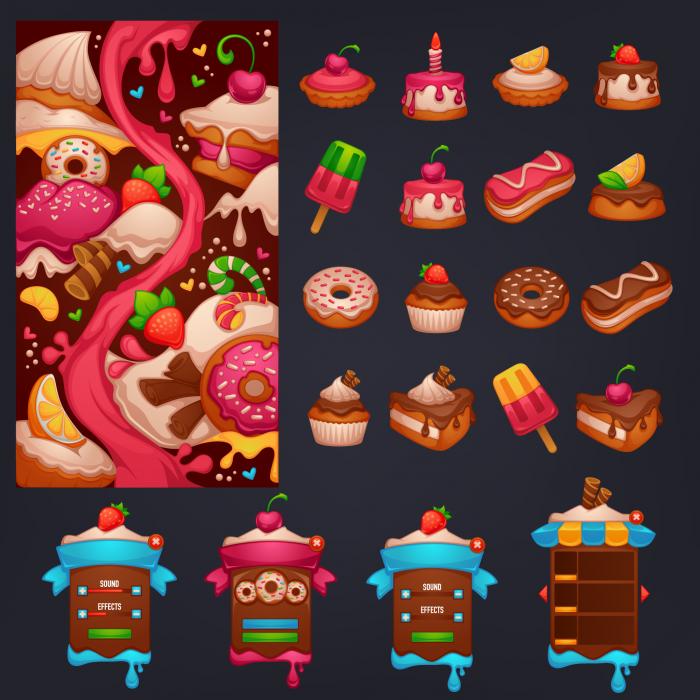 Little cakes shop