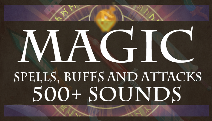 Magic, Spells, Buffs and Attacks