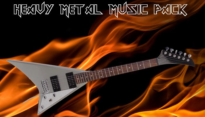 Heavy Metal Music Pack