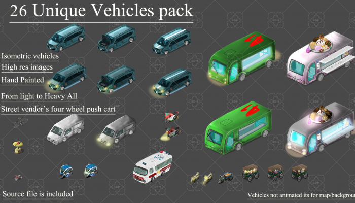 Vehicles Pack HighRes