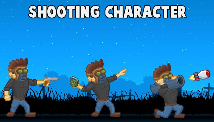 Shooting Character