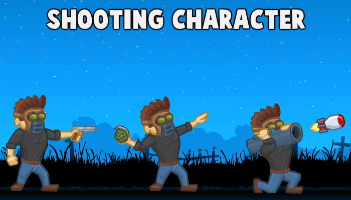 Shooting Character