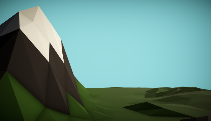 Floating Island – Low Poly Style – Usable in Unity