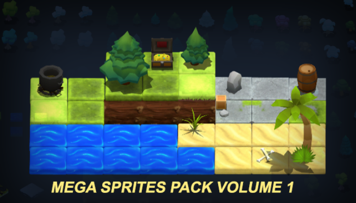 Mega Sprites Pack Volume 1