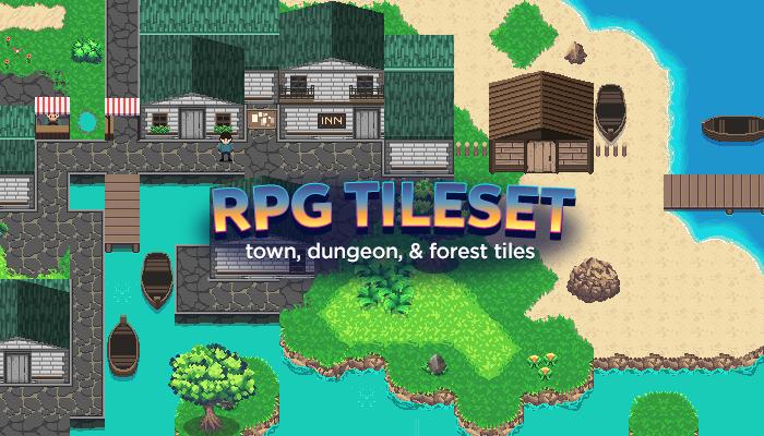 RPG Fantasy Tile Pack