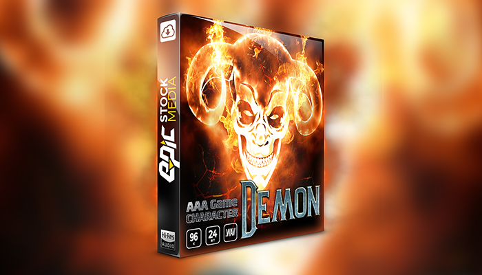 AAA Game Character – Demon