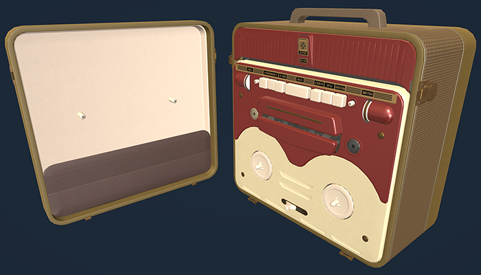MG56 Retro Bobbin Tape Recorder
