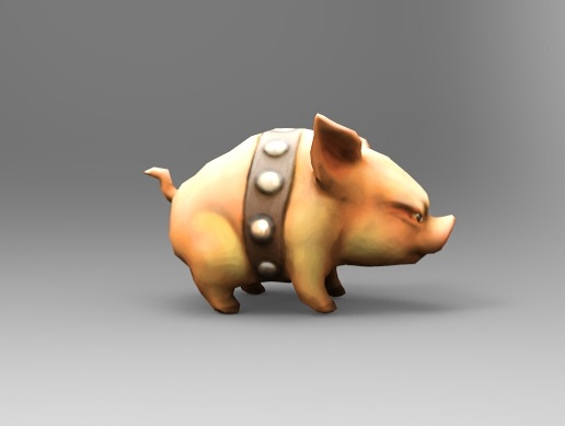 Game Character Piglet