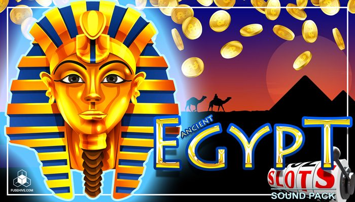 ANCIENT EGYPT SLOT GAME SOUND EFFECTS LIBRARY – Egyptian Themed Sounds and Music Pack for Slots [Fusehive.com]