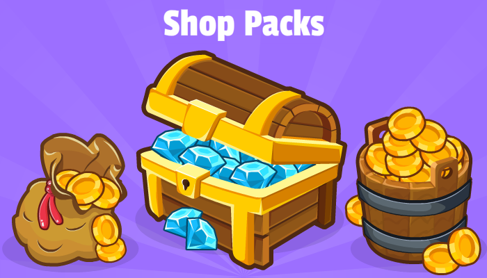 Coin & Diamond Packs
