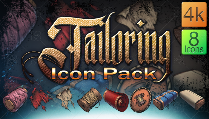 Tailoring Icon Pack