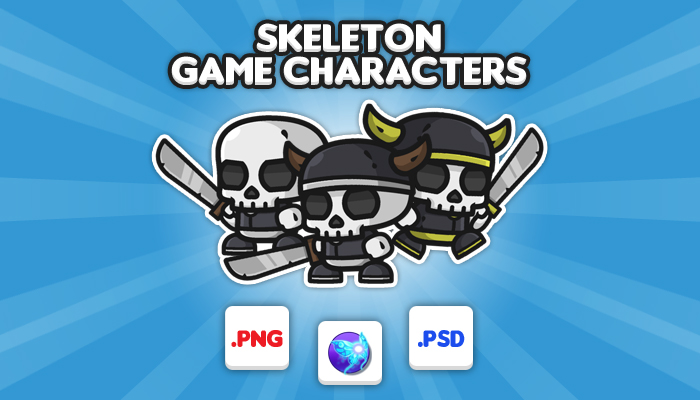 Skeleton Chibi – Game Characters