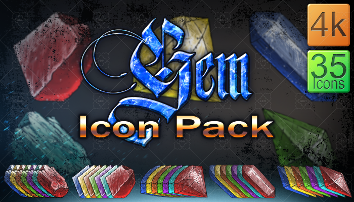 Gem Icon Pack
