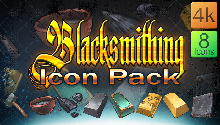Blacksmithing Icon Pack