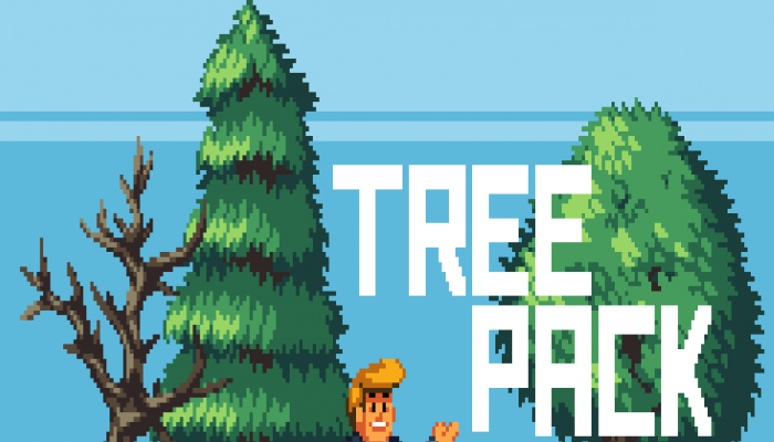 Pixel Art – Simple Trees
