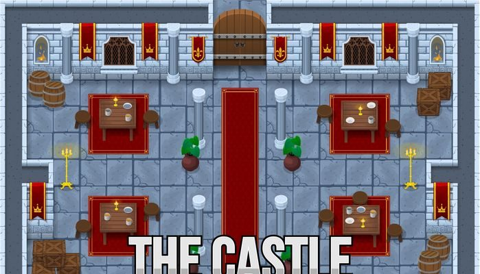 The Castle – Top Down Tileset