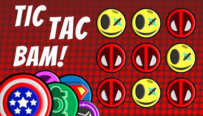 Tic Tac Bam! – Superhero Game