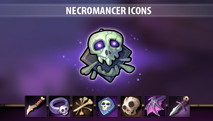 Necromancer Icons