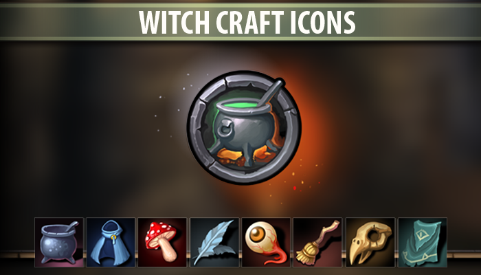 Witch Craft Icons